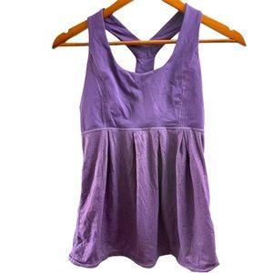Lululemon Power Dance Tank Top Grape Purple 6